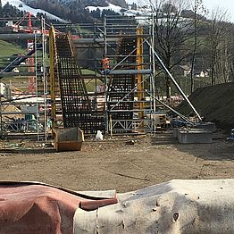 Wattwil/Ebnat-Kappel: Neue Brücke Thur