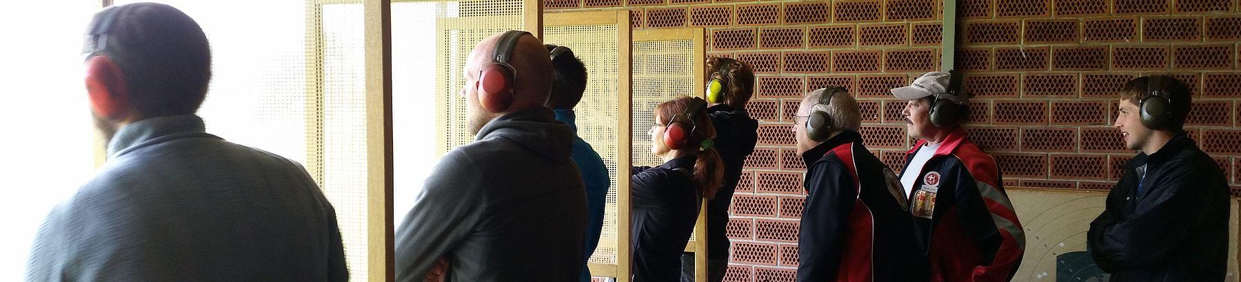 Firmenausflug 2015 - Pistolenschiessstand Bremgarten