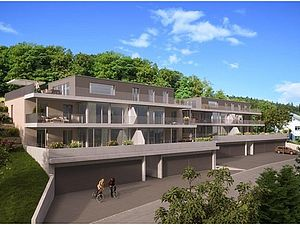 Neuenhof: Neubau 2 MFH Feldhofweg mit Baugrubensicherung