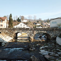 Döttingen: Surbbrücke (West)