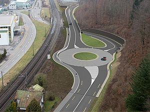 Brugg - Windisch - Hausen: Südwestumfahrung zVg Kanton Aargau