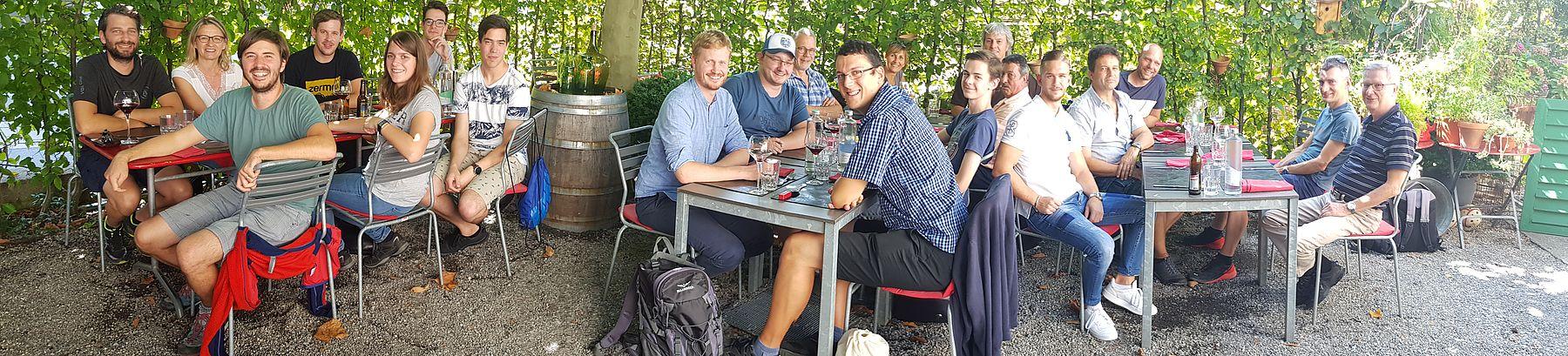 Sommerausflug 30.08.2019 - Wasserschutzpolizei Zürich - Brücke Thur Wattwil