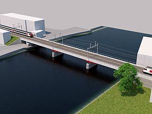 Solothurn West: SBB Brücke über Aare