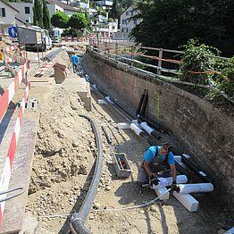 Döttingen: Neubau Regenbecken