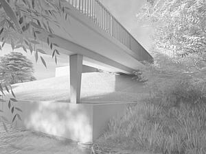 Frick: Studienauftrag Neubau Bruggbachbrücke