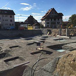 Jonen: Gewerbe- und Wohnüberbauung Dorfstrasse