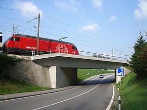 Brugg / Wildegg: Umbau und Verstärkung SBB-Brücke B-201